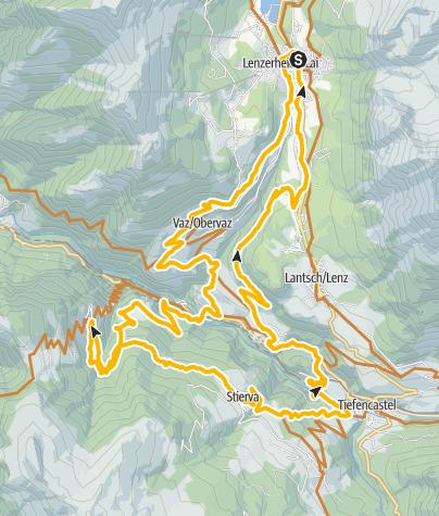 Map / GPS Muttener Runde