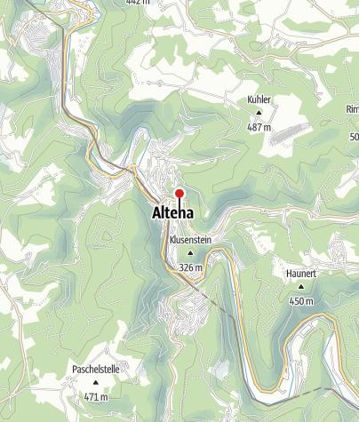 Karte / Burg Altena