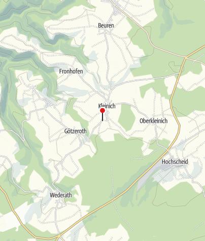 Map / Grillhütte Kleinich
