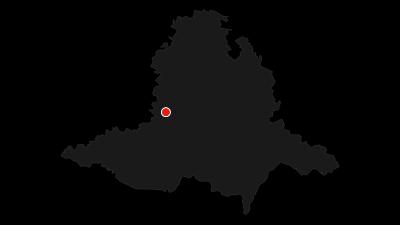 Mapa / Pivovarská cyklotrasa – Z oslavanského k dalešickému pivovaru