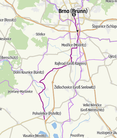 Mapa / Vyhnanecká