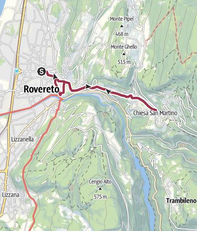 Cartina / CityTrek della Storia