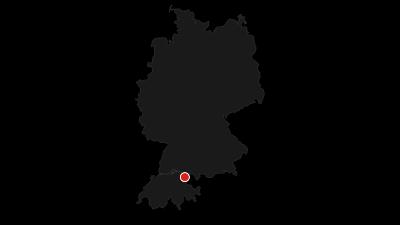 Cartina / Radtour zu den UNESCO-Welterbestätten am Bodensee