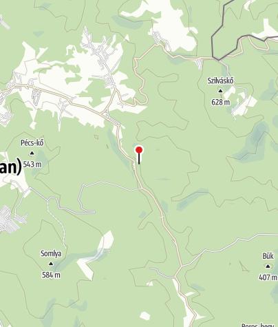 Térkép / Csernyik Kulcsosház