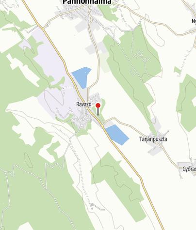 Map / Villebaldi vendégház