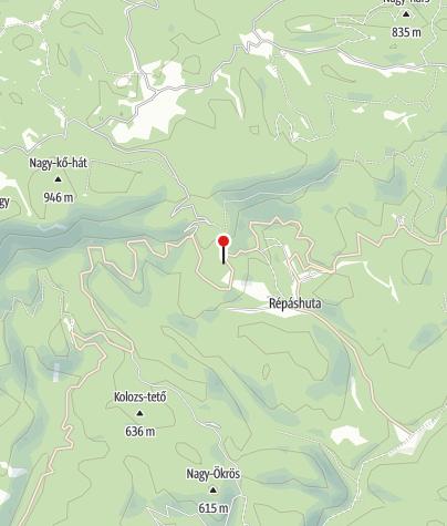Térkép / Borostyán Panzió