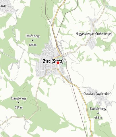Térkép / Bakonyi Kemping