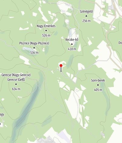 Karte / Marót-hegyi Sólyomfészek