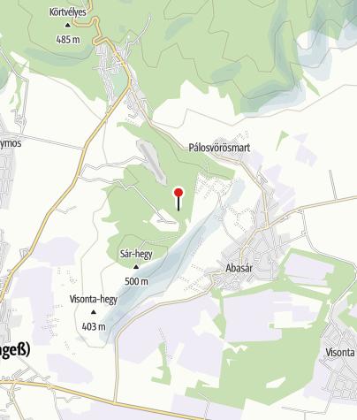 Térkép / Szálas Kulcsosház