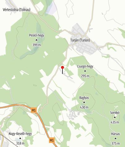 Térkép / Tarjáni Ifjúsági Nemzetiségi Tábor