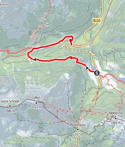 Karte / Maria-Theresien-Höhe