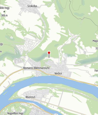 Mapa / Csattogó-völgyi Üdülőházak