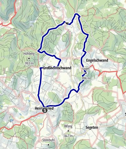 Karte / Ein Abstecher in die Vergangenheit