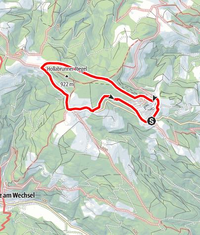 Map / Hochegger Rundwanderweg