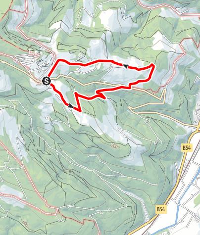 Karte / Hochegger Höhenweg