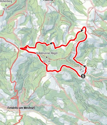 Karte / Hochegger Kapellenweg
