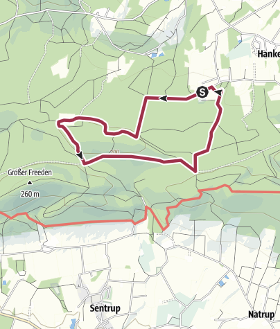Karte / TERRA.track: Vom Limberg zum Hohnsberg