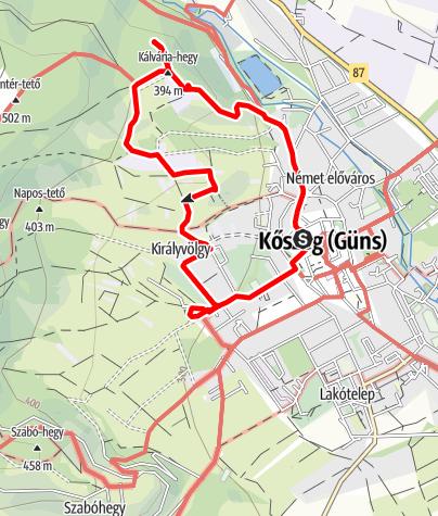Map / Kubát Hugó emléktúrák - 5 TT