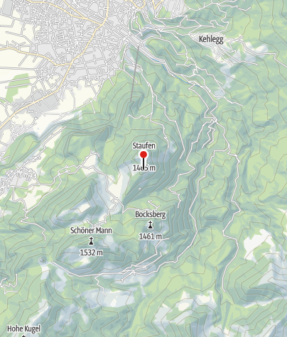 Map / Staufenalpe
