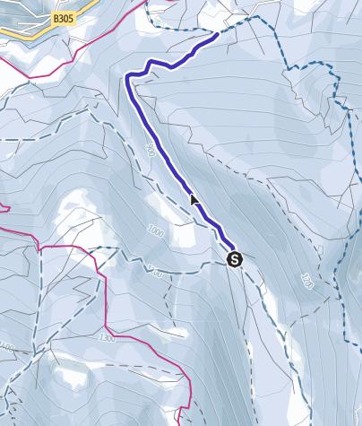 Karte / Rodelbahn Schapbach Schönau am Königssee