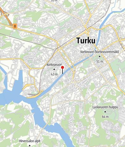 Kartta / TURKU-PARAINEN PURJEHDUS, 25.05.2019