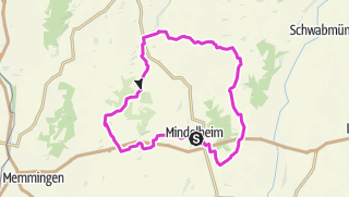 Karte / 11. Unterallgäu Radtour - Rennradtour 2019