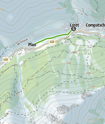 Karte / Pater Maurus Carnot Weg