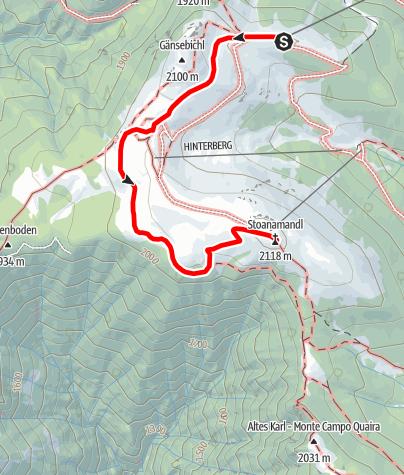 Mappa / PARCO AVVENTURA JOCHTAL