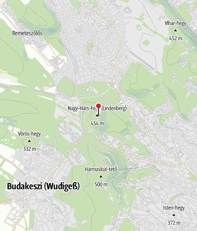 Térkép / Bátori-barlang (Nagy-Hárs-hegy)