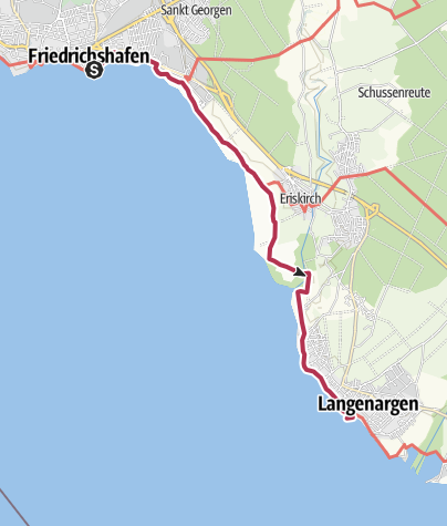 Map / Durch das Eriskircher Ried