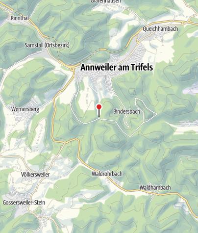 Karte / Klettererhütte am Asselstein
