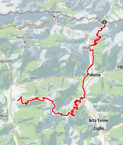 Karte / I5 - Clavais - Pramosio