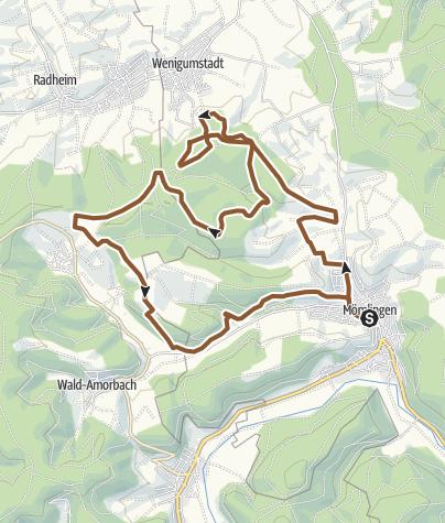 Karte / Mountainbike-Rundstrecke Mömlingen (Mö2)