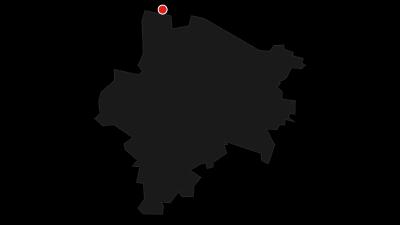 Mapa / Českokanadským pohraničím