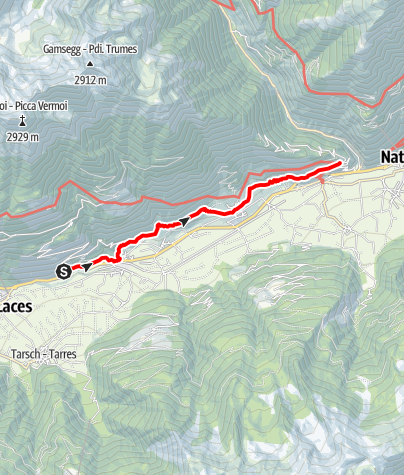 Mapa / Via Vinum Venostis