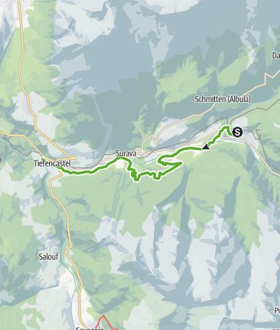 Karte / Natura Trail - Parc Ela 2