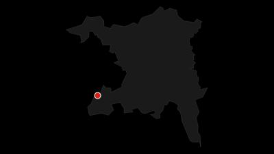 Karte / Alter Bernerweg: Von Rothrist nach Baden