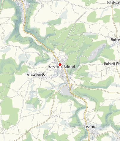 Karte / Wohnmobilstellplatz Amstetten