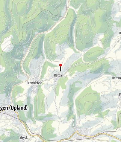 Karte / km 30 / Sportplatz Rattlar / Verpflegung