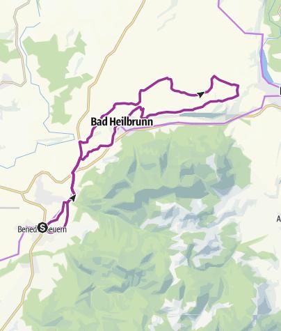 Karte / Buchberg-Runde