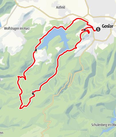 Karte / G2 Spritztour nach Hahnenklee