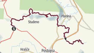 Mapa / Predjama - Rakov Škocjan (more scenic route)