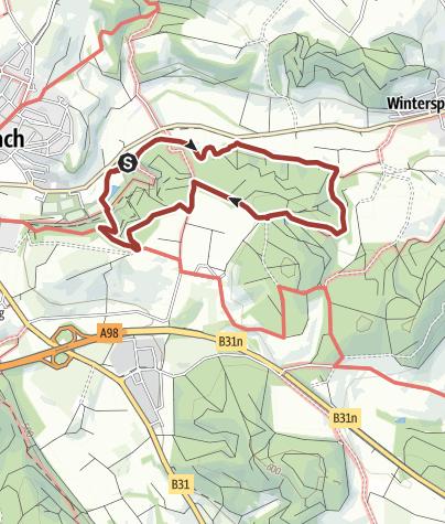 Karte / Quellerlebnisweg: Friedensquelle