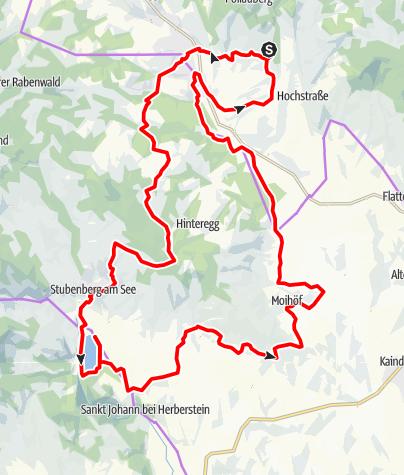 Karte / RETTER: Radtour zum Stubenbergsee
