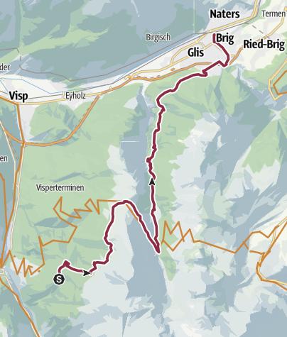 Map / Gspon Panorama Bike
