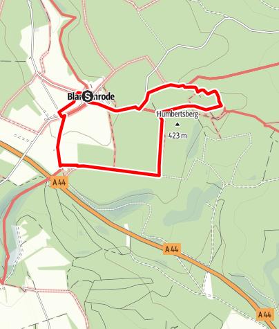 Karte / Entdeckertour Blankenrode