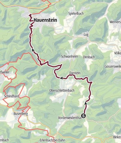 Map / 02 Vorderweidenthal - Von Platz 2 zu Platz 15