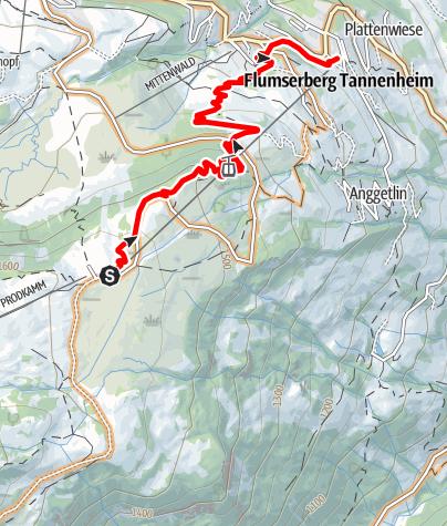 Karte / BikerTrail BlueSalamander