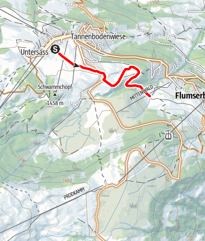 Karte / BikerTrail BlueBunny
