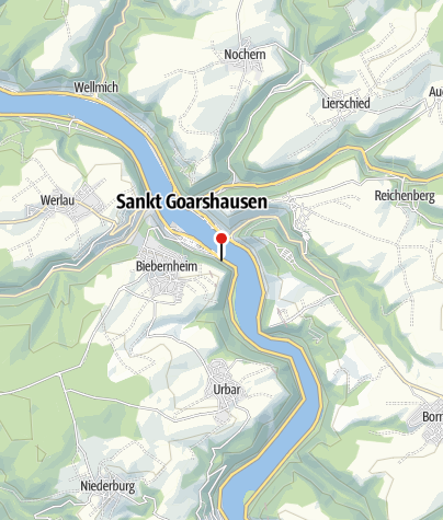 Map / Ferienwohnung Burg Katz